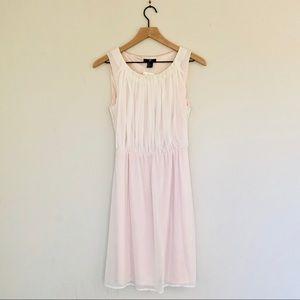 NWT H&M beautiful cream summer dress size 6